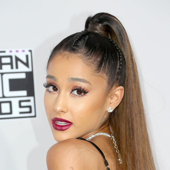 Ariana Grande Hair and Makeup at American Music Awards 2016