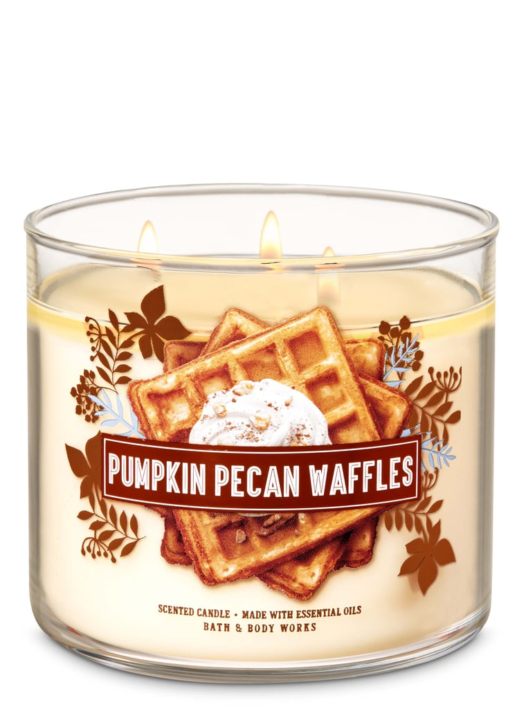 Bath and Body Works Pumpkin Pecan Waffles 3-Wick Candle
