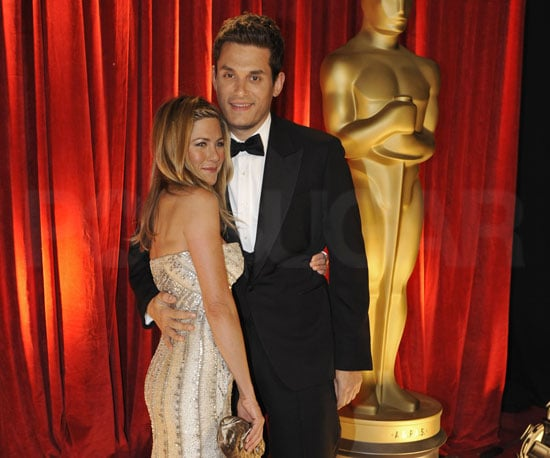 Photo of John Mayer and Jennifer Aniston at the 2009 Oscars