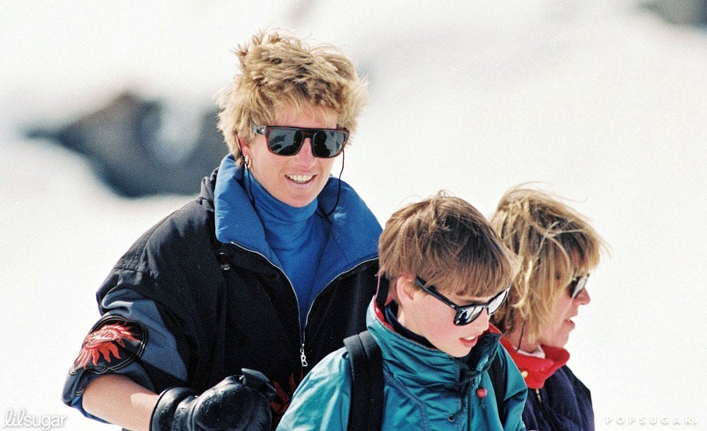 The royals have long had a love affair with the snow, as evidenced when Princess Diana took Princes William and Harry to ski in Lech, Austria back in March 1994.