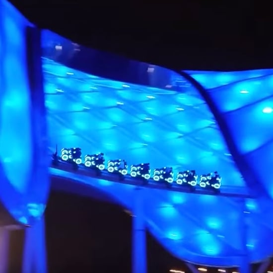 Shanghai Disney Resort Tron Roller Coaster
