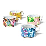 Lilly Pulitzer Porcelain Stacking Espresso Mugs