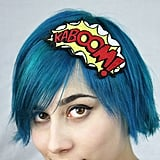 These Bright Comic Headbands Demand Attention