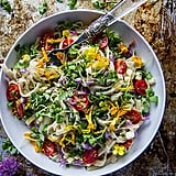 Summer Garden Linguine With Corn, Tomatoes, and Fresh Herbs