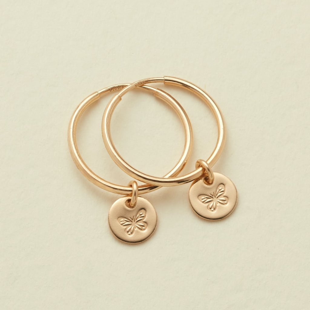 A Closer Look: Made by Mary Evie Hoop Earrings