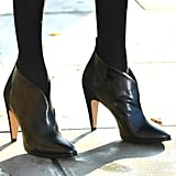Meghan Markle Black Givenchy Ankle Boots