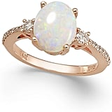 Effy Aurora by Opal (1-3/8 ct. t.w.) and Diamond (1/4 ct. t.w.) Oval Ring in 14k Rose Gold ($2,000)