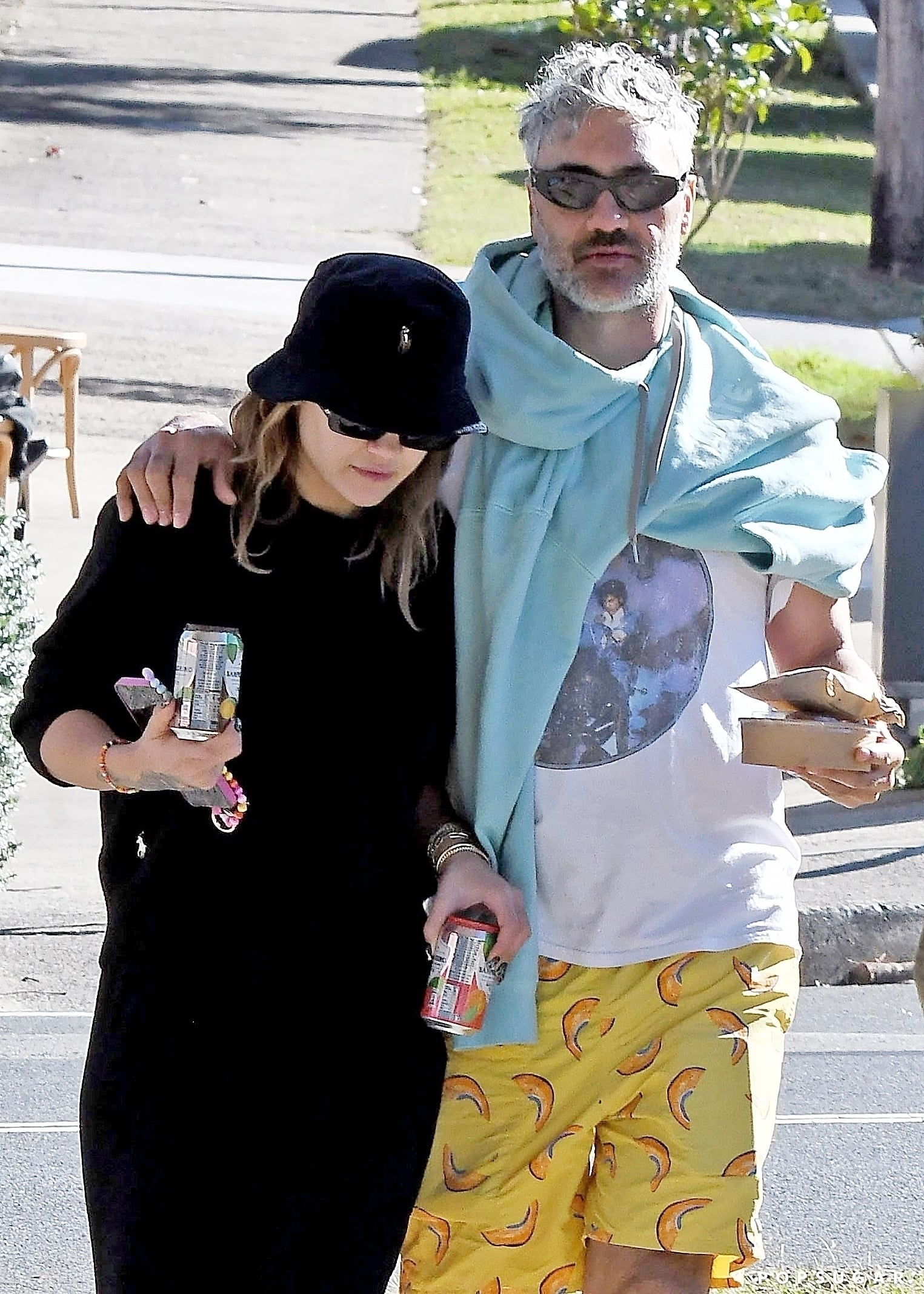 Sydney, AUSTRALIA  - New Couple Alert! Kiwi director Taika Waititi and British singer Rita Ora have apparently been dating for months. They are pictured together for the first time as a couple, having emerged from Taika's beachside home In Bondi Beach for breakfast today. The pair seemed very enamoured with each other as Rita playfully poked her tongue out at Taiki. They bought food and later Taiki held her hand tenderly before kissing her hand.Pictured: Rita Ora, Taika Waititi BACKGRID USA 17 MAY 2021 BYLINE MUST READ: MTRX / BACKGRIDUSA: +1 310 798 9111 / usasales@backgrid.comUK: +44 208 344 2007 / uksales@backgrid.com*UK Clients - Pictures Containing ChildrenPlease Pixelate Face Prior To Publication*