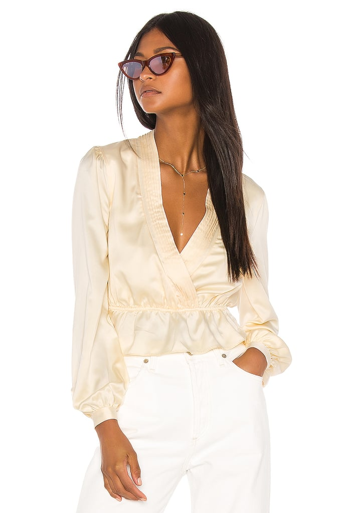 Song of Style Jennica Top in Cream from Revolve.com