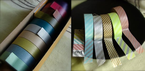 Nice and New: Colorful Japanese Masking Tape