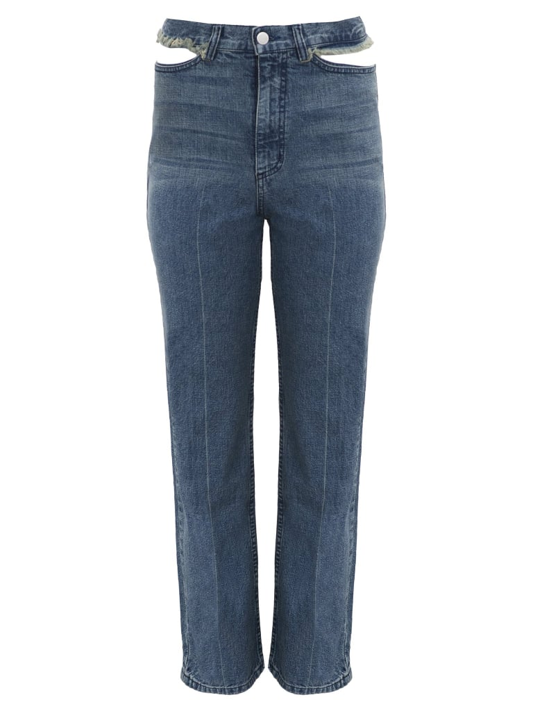 Womens Jeans A woman's wardrobe without a good quality pair of jeans is a travesty indeed! Slip into this fashion staple with one of EziBuy's range of ladies' jeans.