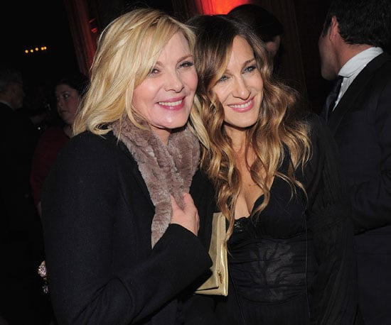 Slide Photo of Kim Cattrall and Sarah Jessica Parker at Did You Hear About the Morgans Premiere