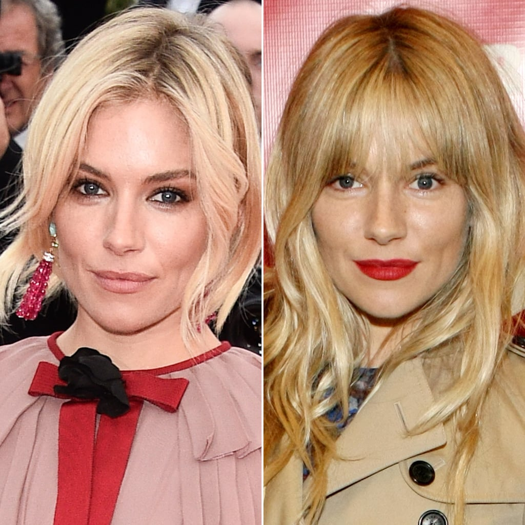 Sienna Miller Photos Of Celebrities With And Without Fringes