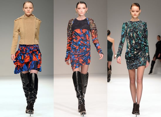Peter Pilotto's Autumn 2009 Collection, London Fashion Week