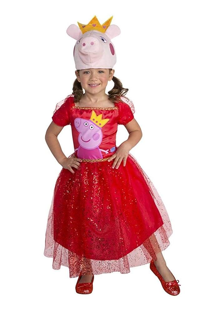 Peppa Pig Tutu Dress Toddler Costume 2T Pink