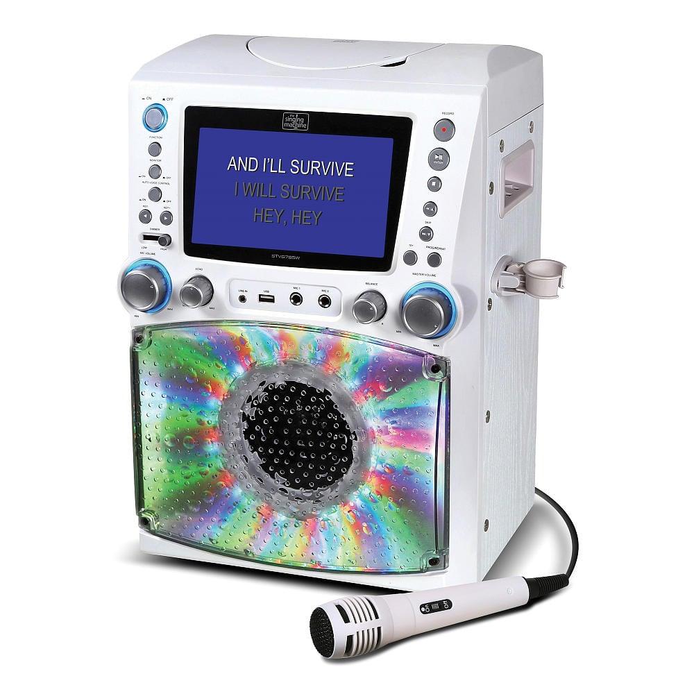For 8-Year-Olds: Singing Machine Lights & Recording Karaoke