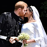 Prince Harry and Meghan Markle First Kiss Pictures