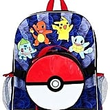 Pokemon Pokeball Backpack and Lunch Bag