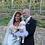 Elisa Donovan married Charlie Bigelow in a beautiful sunset ceremony at the Carmel Valley Ranch in Carmel, CA, on Oct. 13.