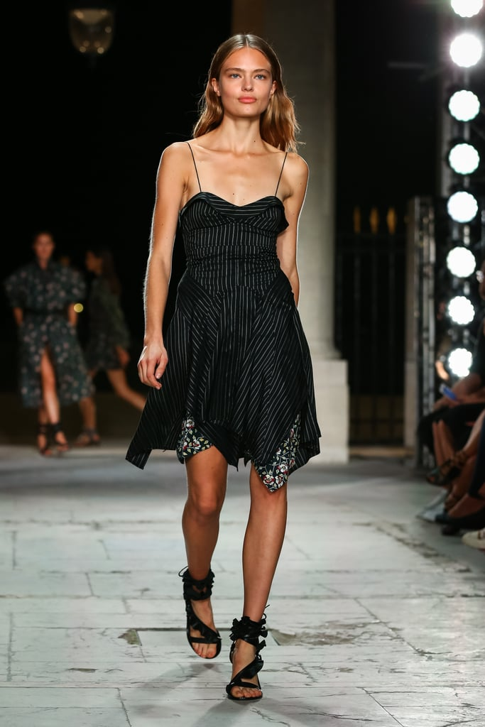 The Isabel Marant dress hit the the runway during the Spring 2017 show.
