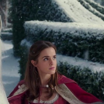 Emma Watson Singing in Beauty and the Beast Clip