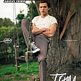 Tom Holland Man About Town Cover April 2019