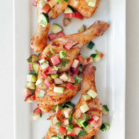 Chicken Thighs With Rhubarb Cucumber Salsa Recipe