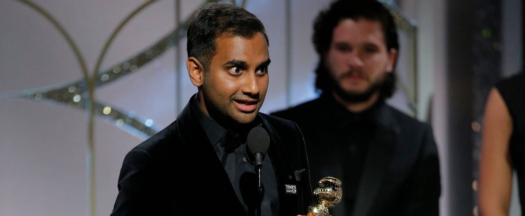 What Did Aziz Ansari Say During His Golden Globes Speech?