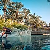 X Dubai Madinat Jumeirah Wakeboarding Stunt | February 2018