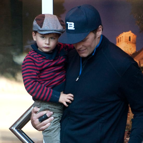 Tom Brady and Gisele Bundchen in LA With Benjamin | Pictures