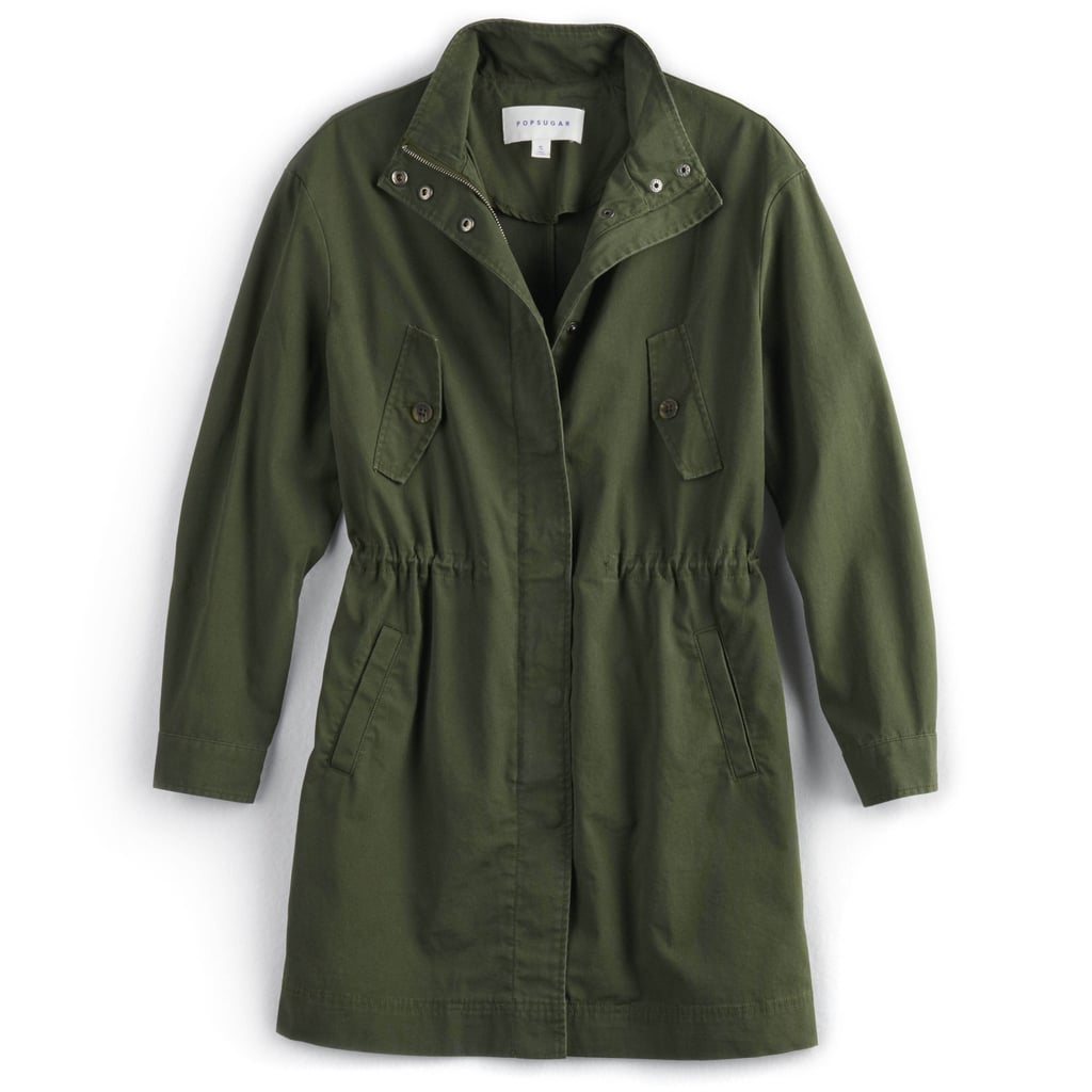 Drop-Shoulder Anorak Jacket