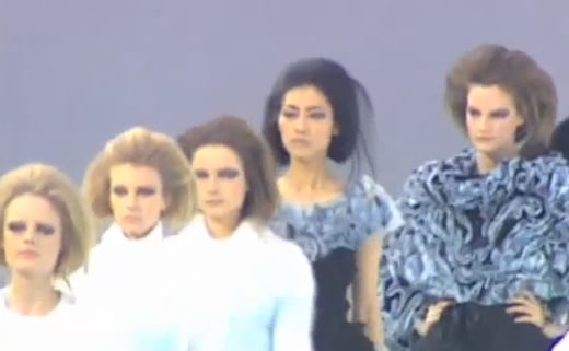 FabTV: Lindsay Lohan, Karl Lagerfeld and Alexa Chung at Chanel
