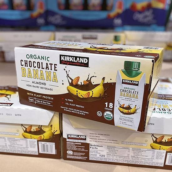 Costco Kirkland Organic Chocolate Banana Almond Milk