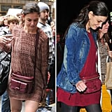 Katie Holmes makes a case for Derek Lam's camera bag.