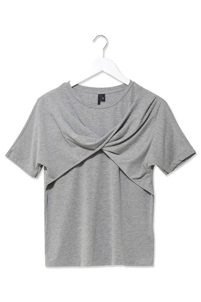 Topshop Womens Twist Front Tee by Boutique (£28)