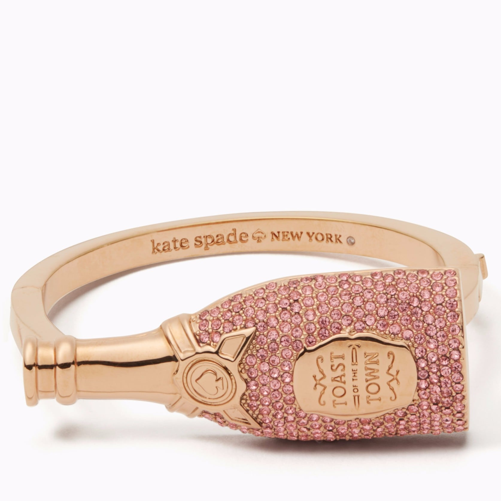 Kate Spade Champagne Bottle Keychain | Kate Spade Champagne