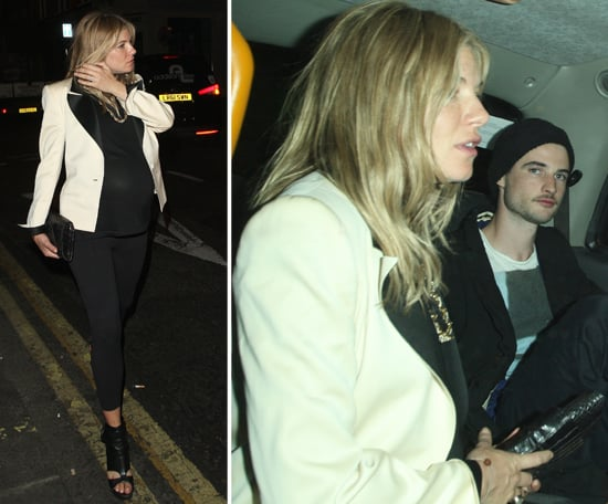Pregnant Sienna Miller Pictures in London With Tom Sturridge