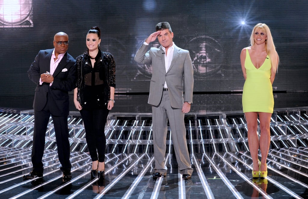 The judges took to the stage.