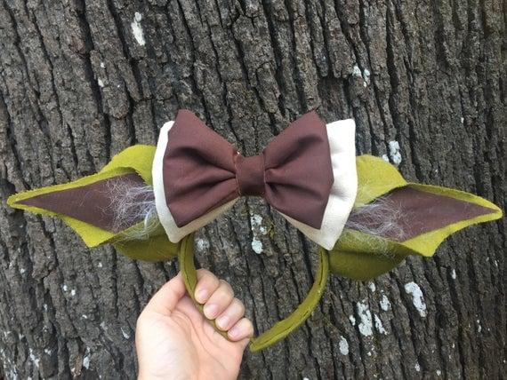 Yoda Inspired Minnie Ears