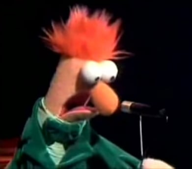 Beaker Rick Rolls on The Muppet Show