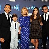 Kelly Ripa and Mark Consuelos Family Holiday Card 2018