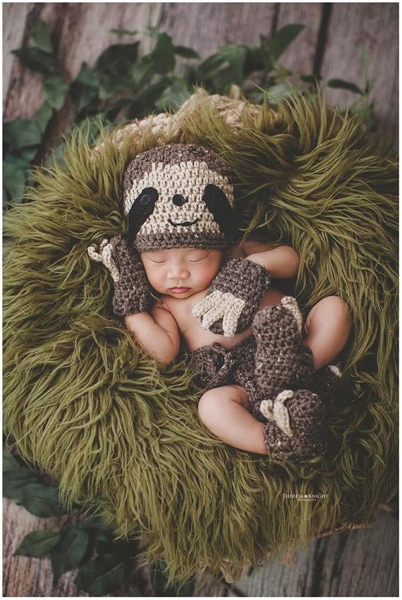 44 Crocheted Newborn Costumes For Their First Halloween