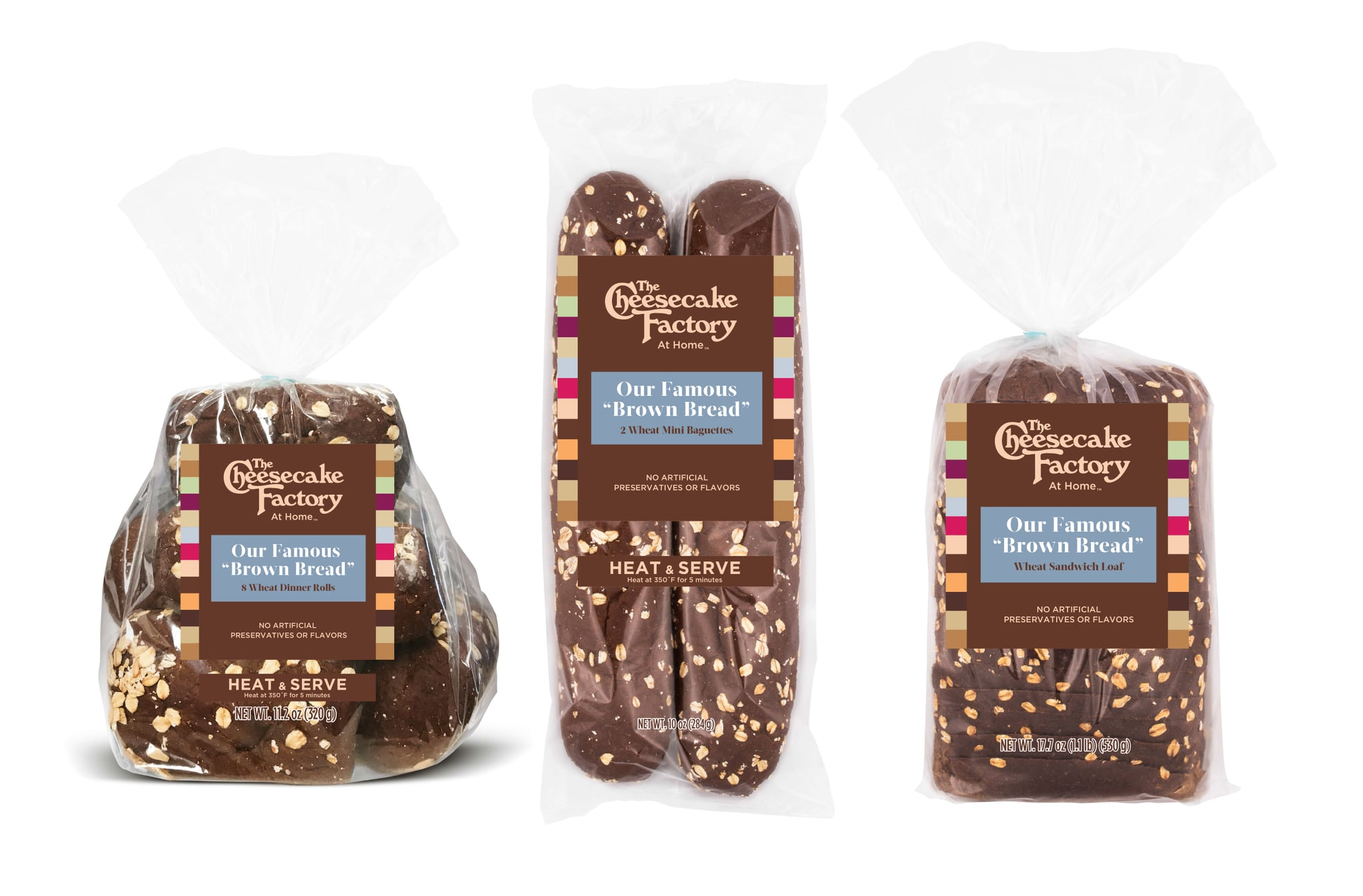 You can now buy The Cheesecake Factory's famous 'brown bread'