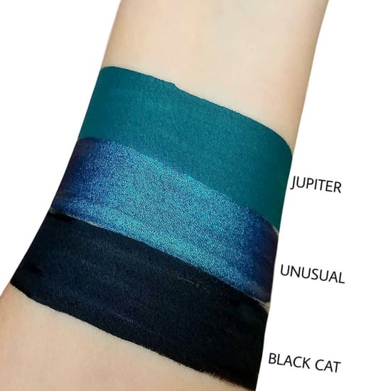 Pretty Zombie Cosmetics Blue Lipstick Swatches