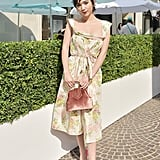 Rowan Blanchard at The Tiffany Cafe in Beverly Hills