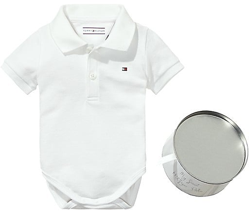 Tommy Hilfiger TH Baby Polo Onesie ($40)