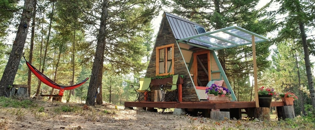 How 1 Couple Built the Dreamiest Tiny Cabin For Just $700 — Yes, You Read That Correctly
