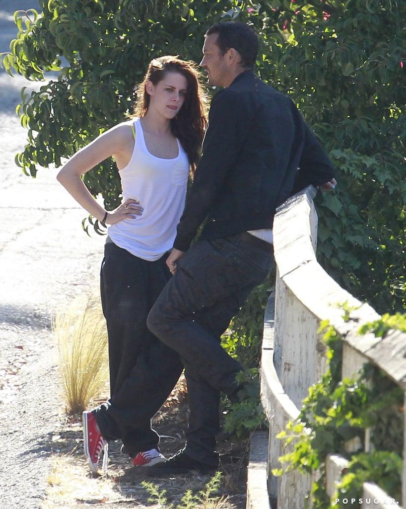 Kristen Stewart cheated on Robert Pattinson with Rupert Sanders.