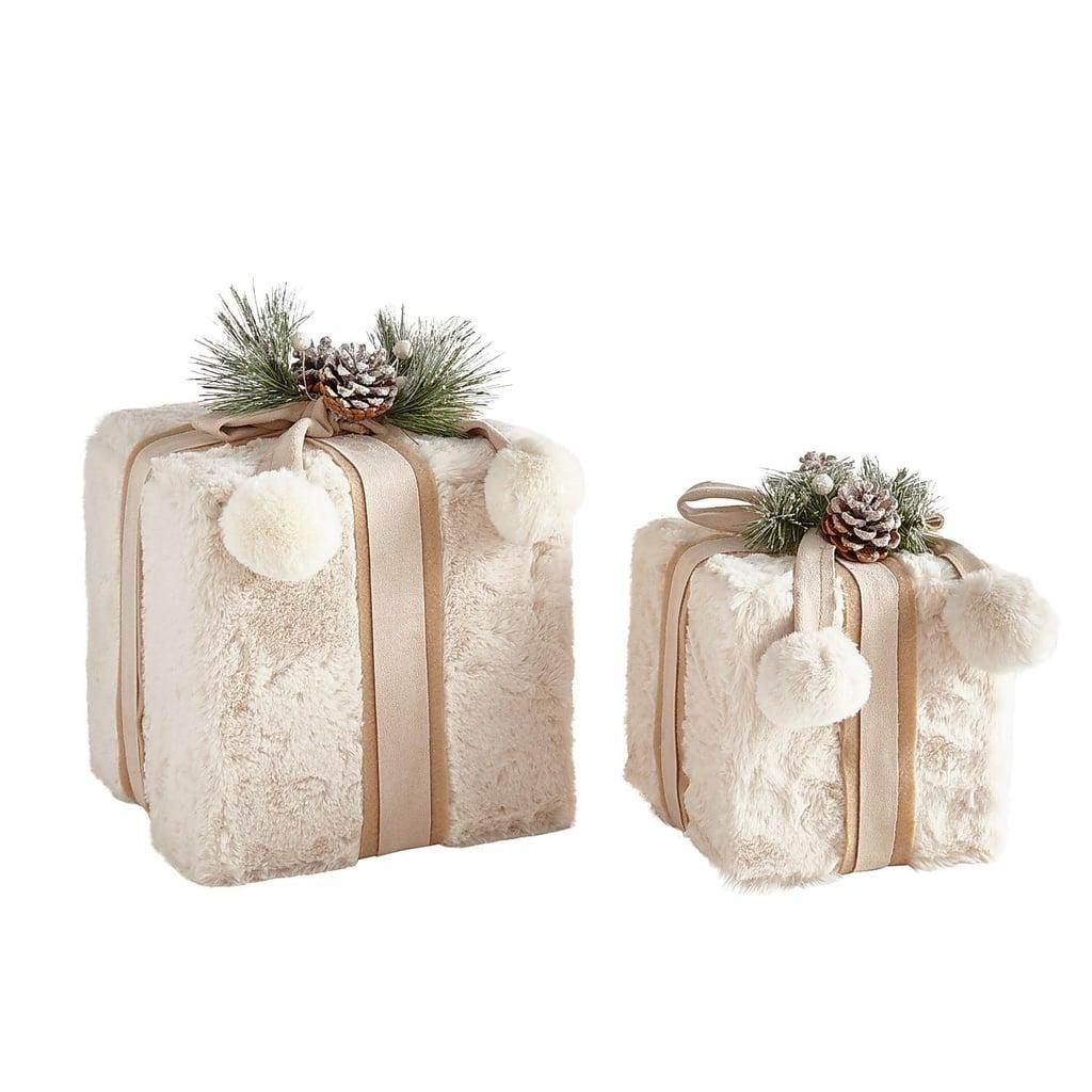 Faux Fur Decorative Box Set