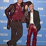 Nick and Aaron Carter, 2000